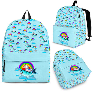 Flying Narwhal And Unicorn Backpacks