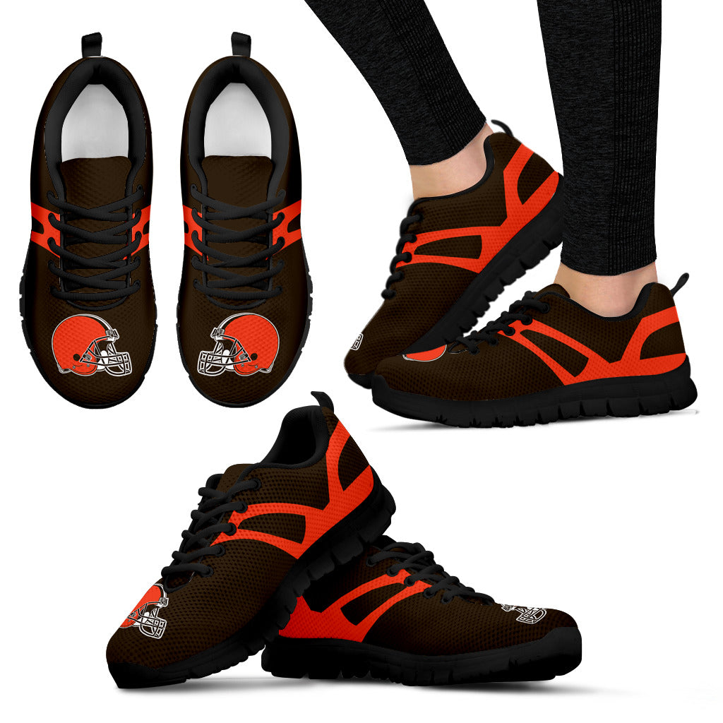 Line Amazing Bottom Cleveland Browns Sneakers