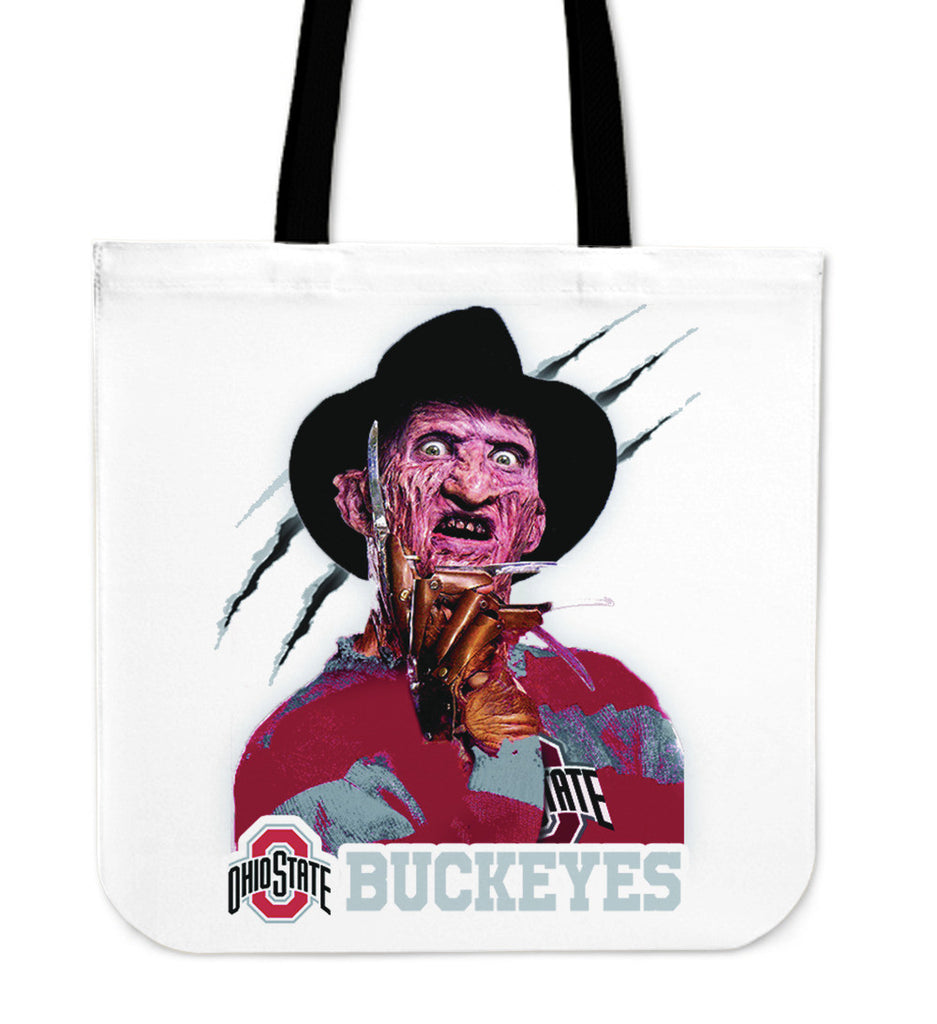Ohio State Buckeyes Freddy Tote Bag - Best Funny Store