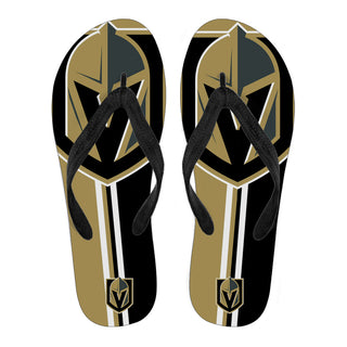 Vegas Golden Knights Fan Gift Two Main Colors Flip Flops