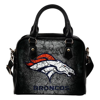 Wall Break Denver Broncos Shoulder Handbags Women Purse
