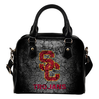 Wall Break USC Trojans Shoulder Handbags Women Purse
