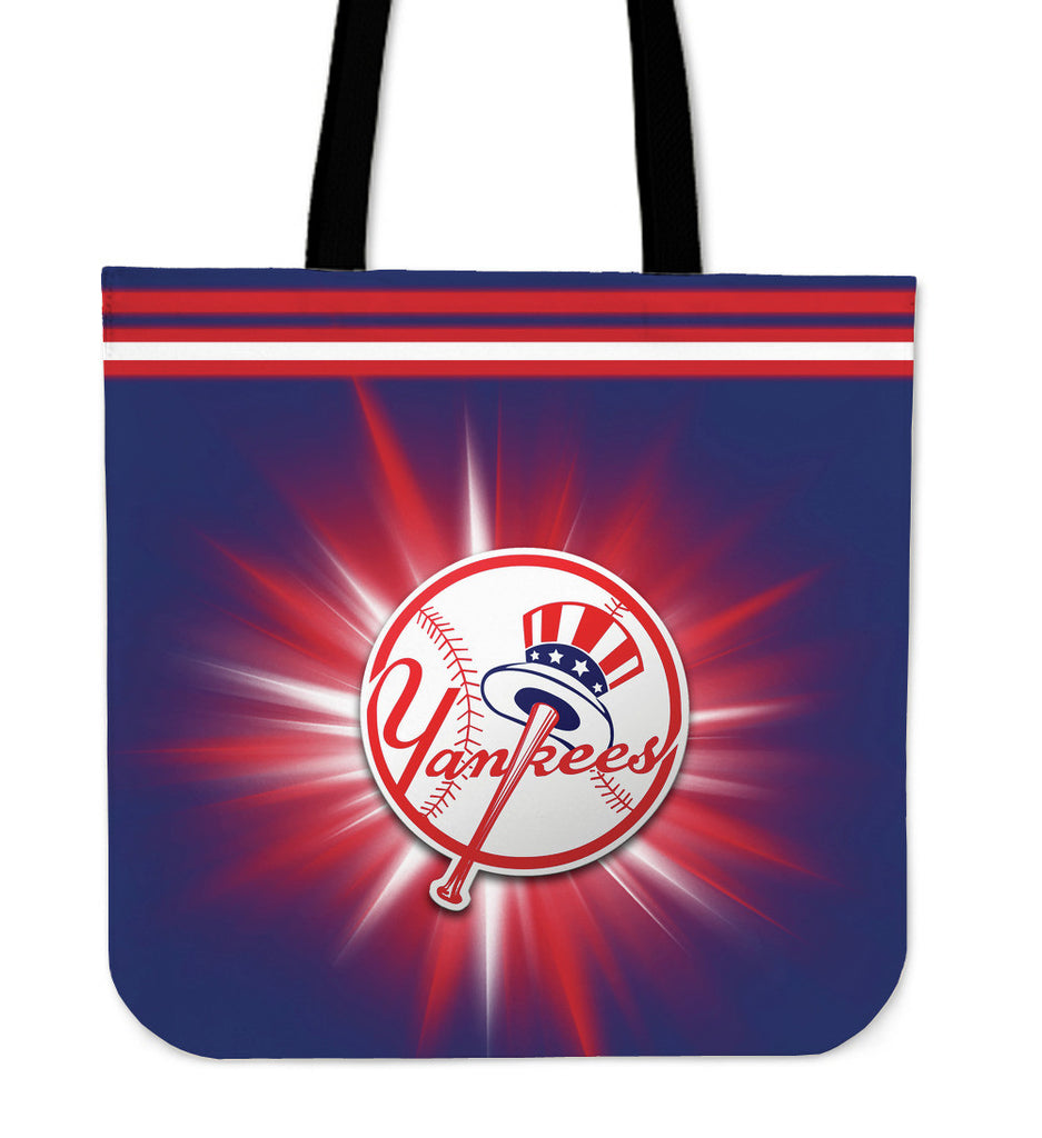 New York Yankees Flashlight Tote Bags - Best Funny Store