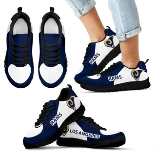 Los Angeles Rams Top Logo Sneakers