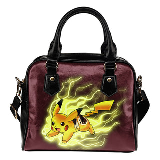 Pikachu Angry Moment Washington Redskins Shoulder Handbags