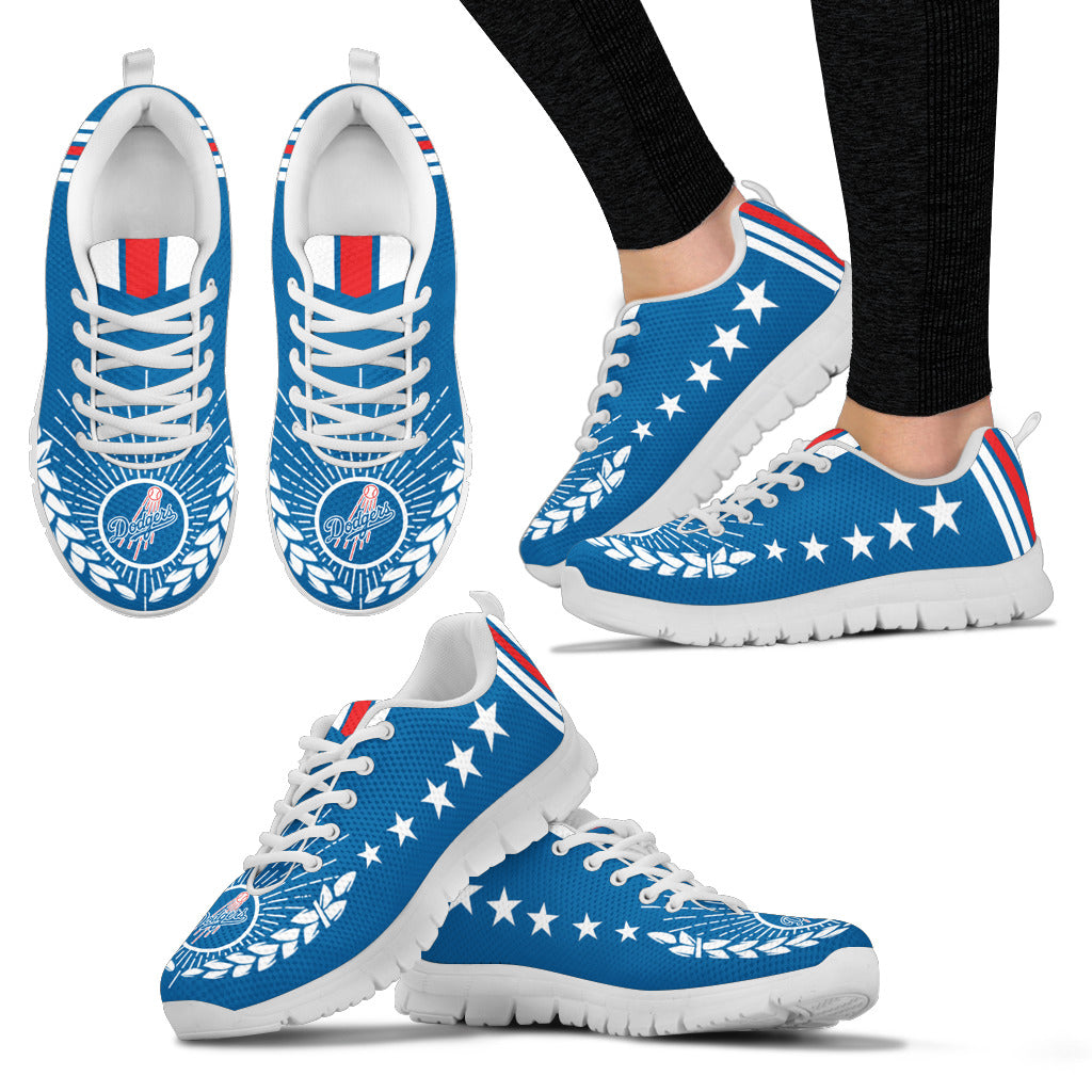 Line Of Stars Victory Los Angeles Dodgers Sneakers