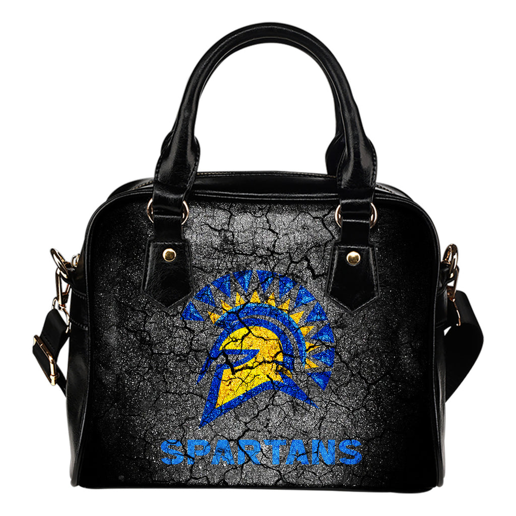 Wall Break San Jose State Spartans Shoulder Handbags Women Purse