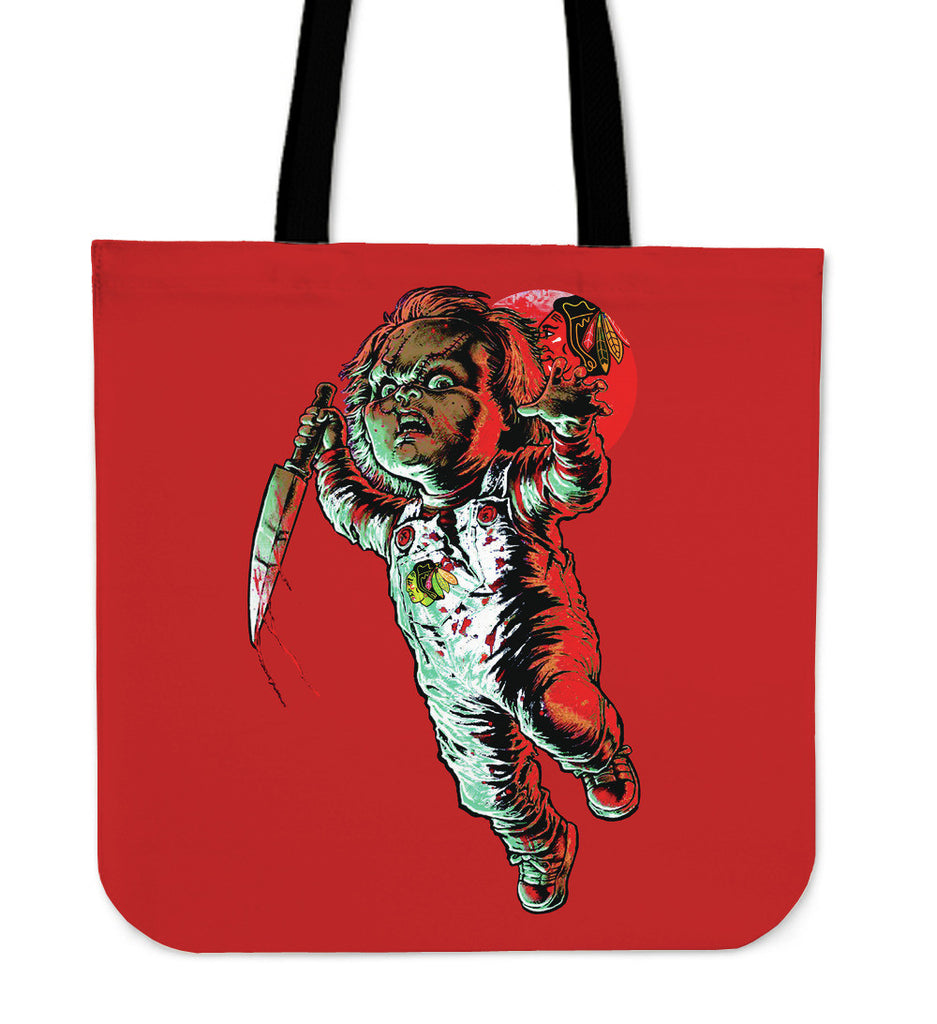 Chucky Chicago Blackhawks Tote Bag - Best Funny Store