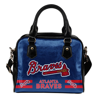 Atlanta Braves For Life Shoulder Handbags