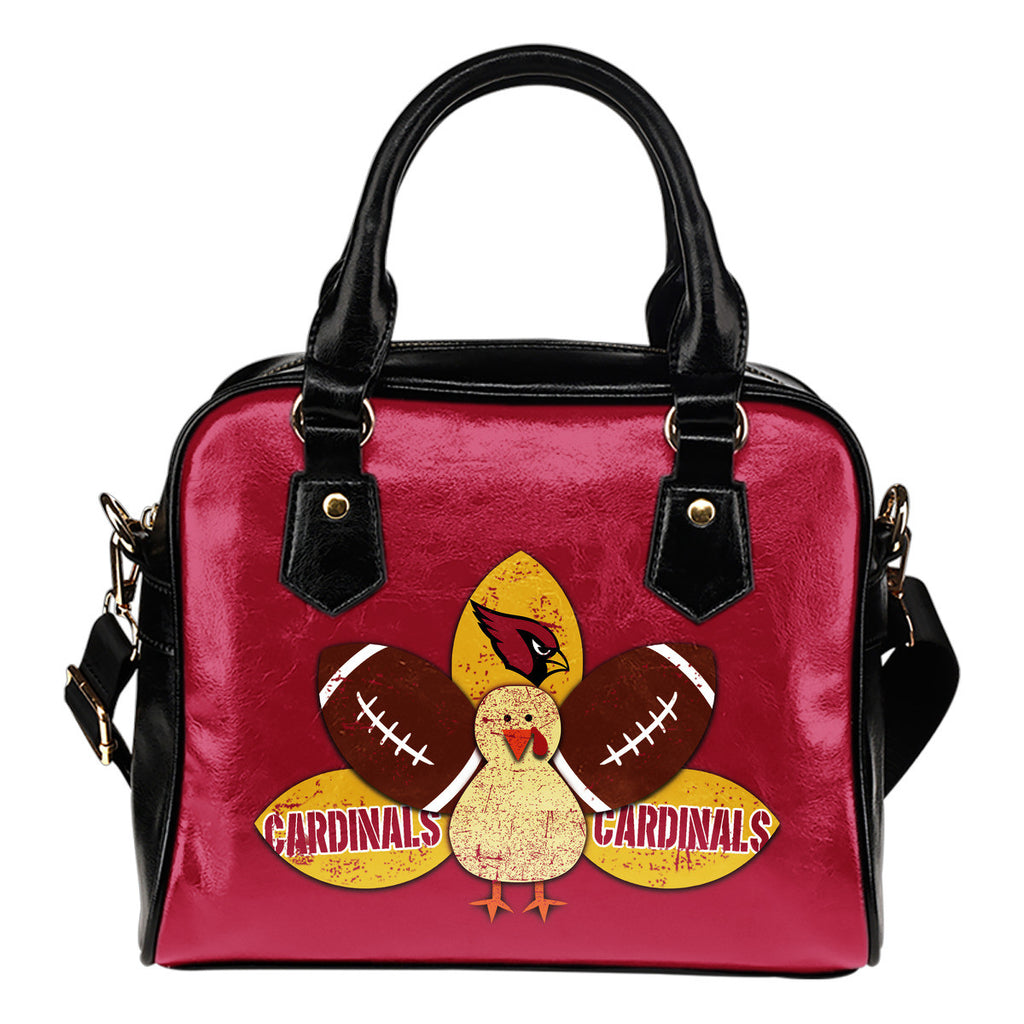 Thanksgiving Arizona Cardinals Shoulder Handbags - Best Funny Store