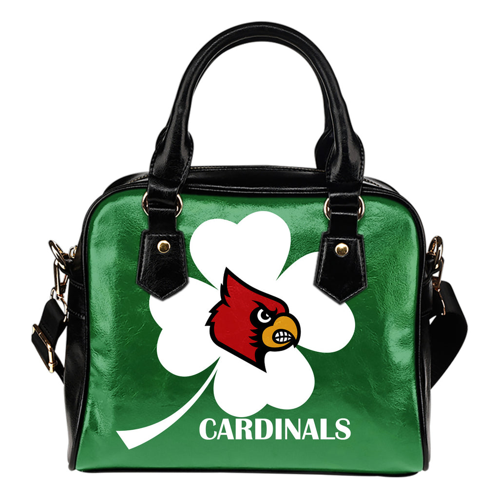 Louisville Cardinals Blowing Amazing Stuff  Shoulder Handbags
