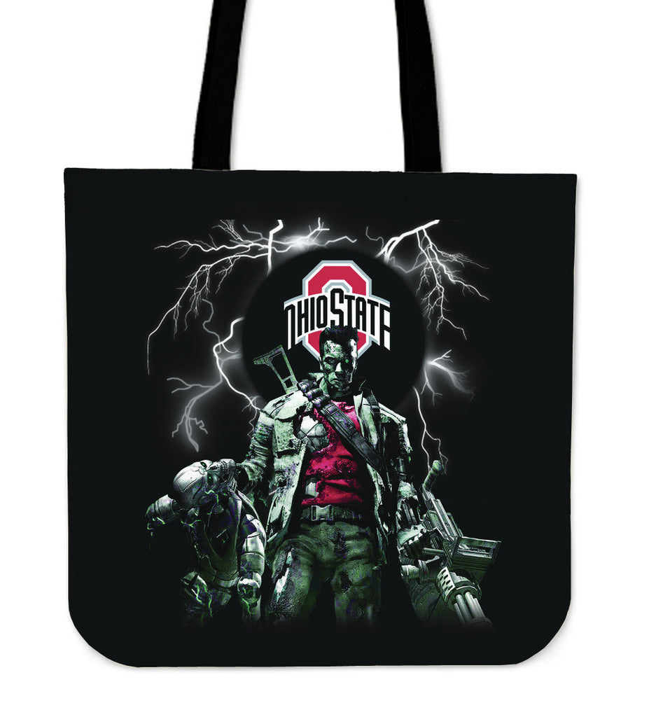 Ohio State Buckeyes Guns Tote Bag - Best Funny Store