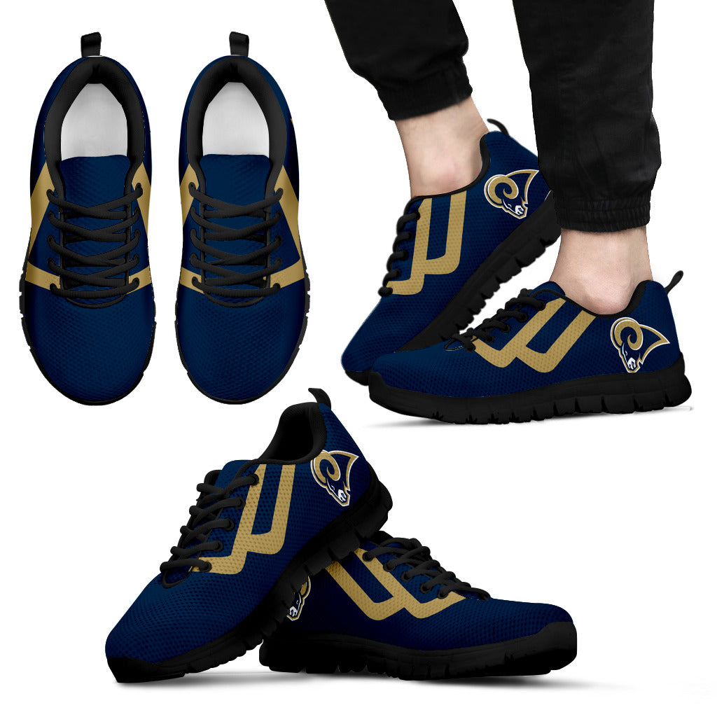 Line Bottom Straight Los Angeles Rams Sneakers