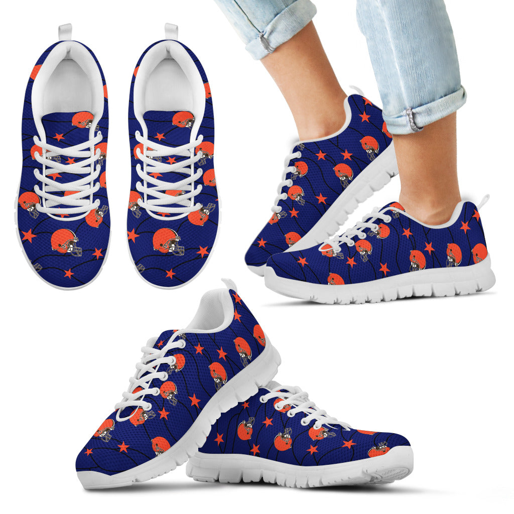 Star Twinkle Night Cleveland Browns Sneakers