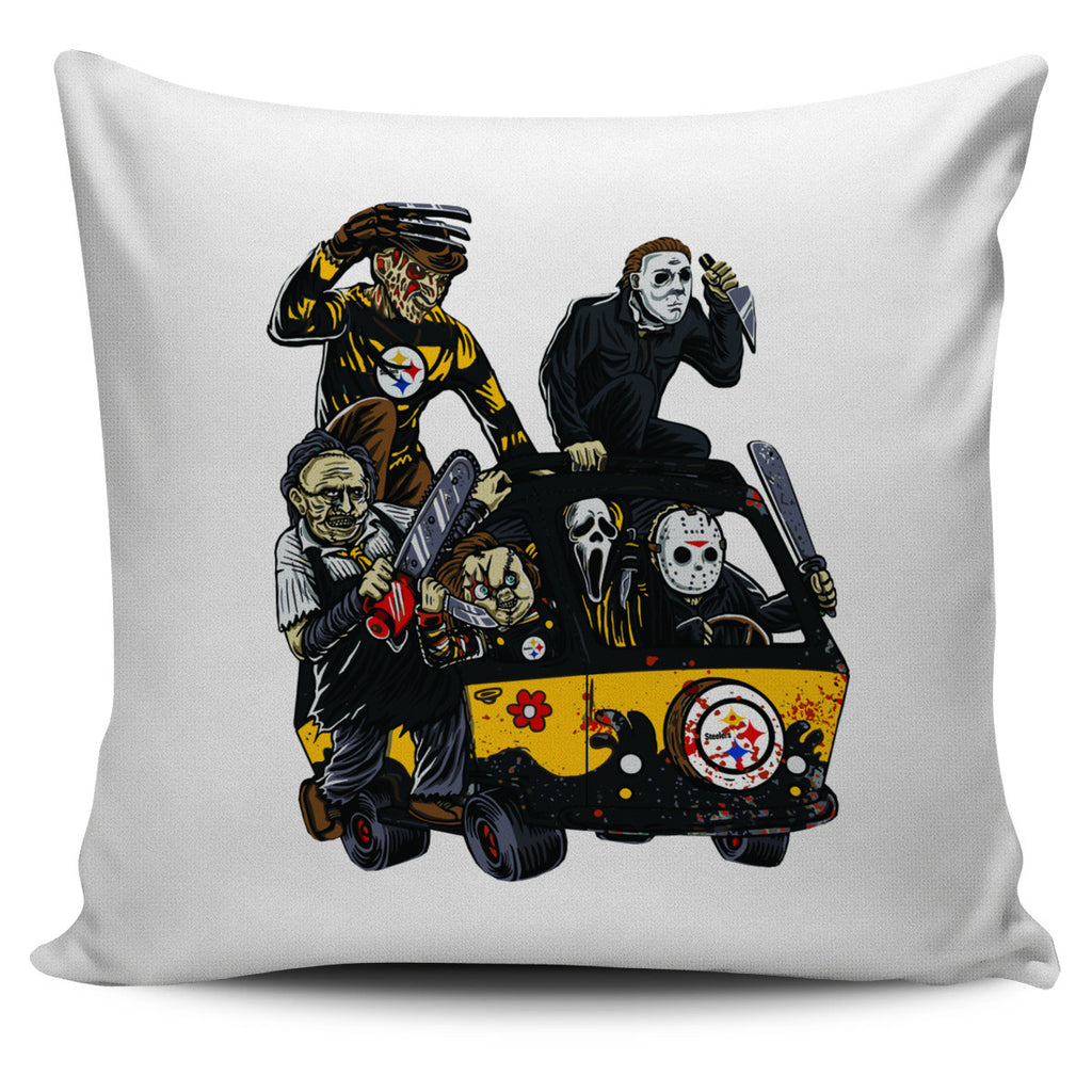 The Massacre Machine Pittsburgh Steelers Pillow Covers - Best Funny Store