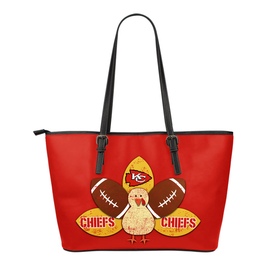 Thanksgiving Kansas City Chiefs Leather Bags - Best Funny Store