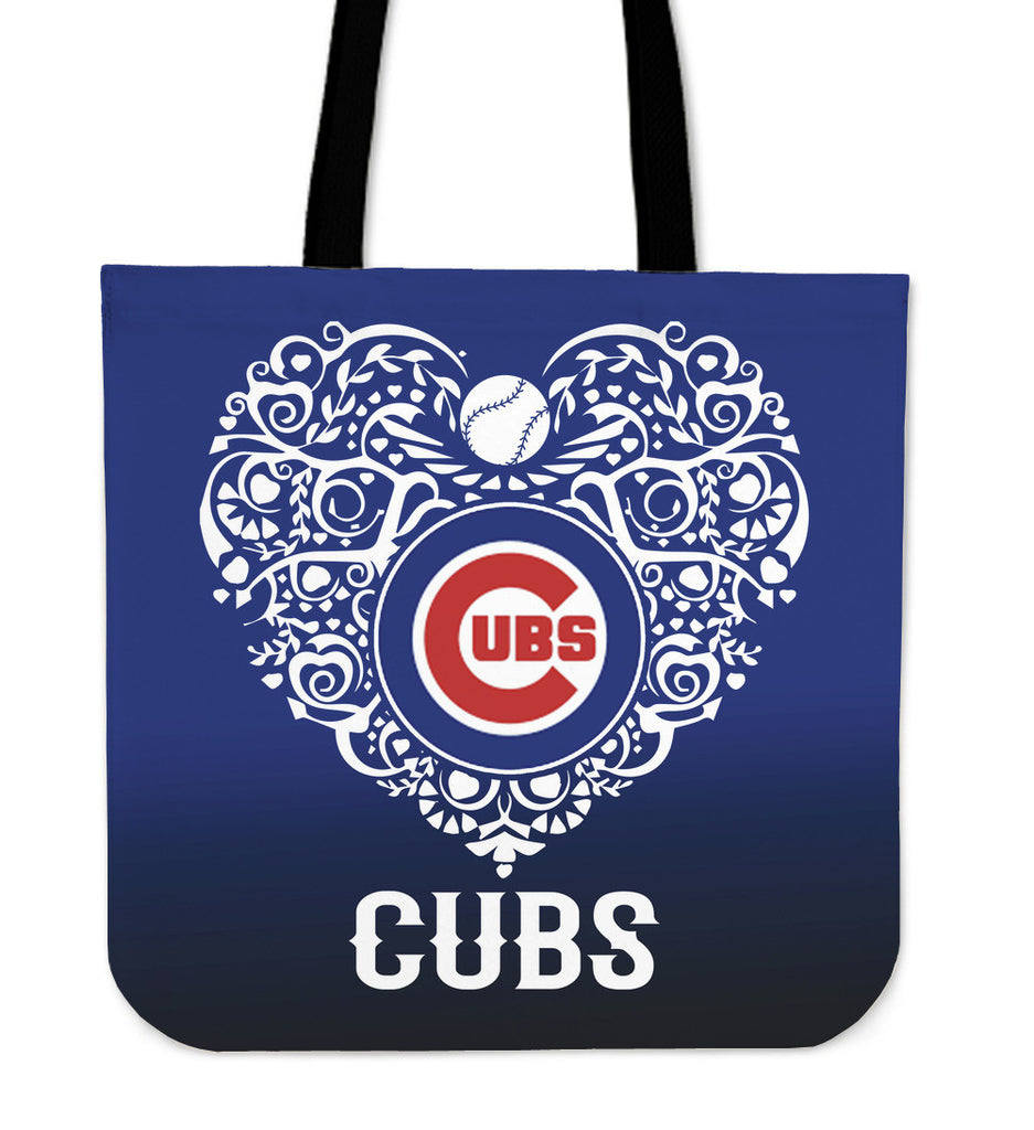 RH Chicago Cubs Tote Bag For Women - Best Funny Store