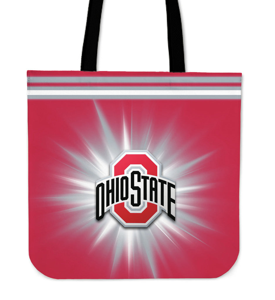 Ohio State Buckeyes Flashlight Tote Bags - Best Funny Store