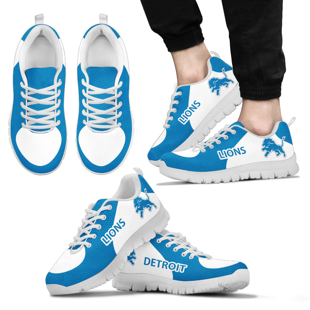 Detroit Lions Top Logo Sneakers