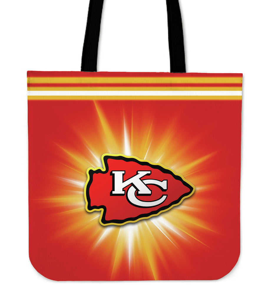 Kansas City Chiefs Flashlight Tote Bags - Best Funny Store