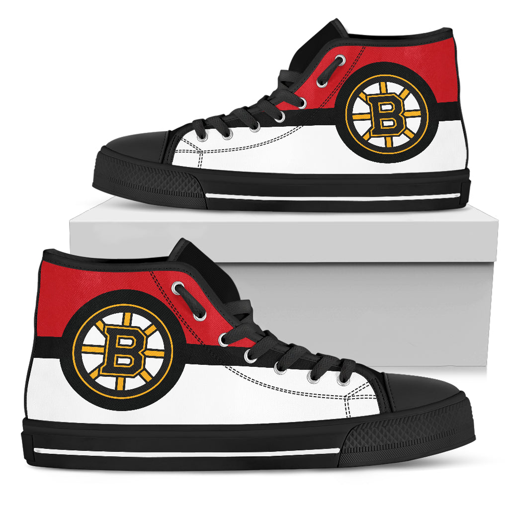 Bright Colours Open Sections Great Logo Boston Bruins High