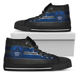 The Shield Toronto Maple Leafs High Top Shoes
