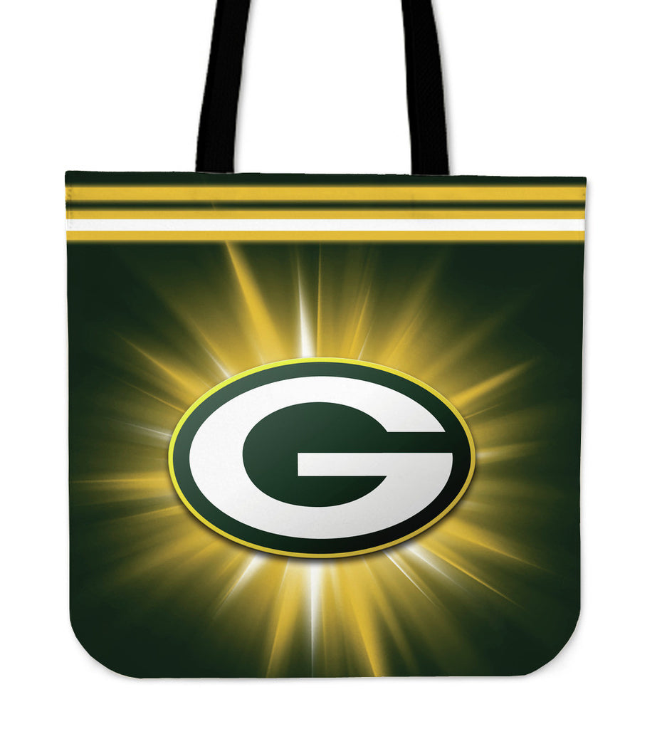 Green Bay Packers Flashlight Tote Bags - Best Funny Store