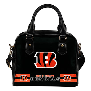 Cincinnati Bengals For Life Shoulder Handbags
