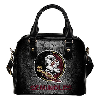 Wall Break Florida State Seminoles Shoulder Handbags Women Purse