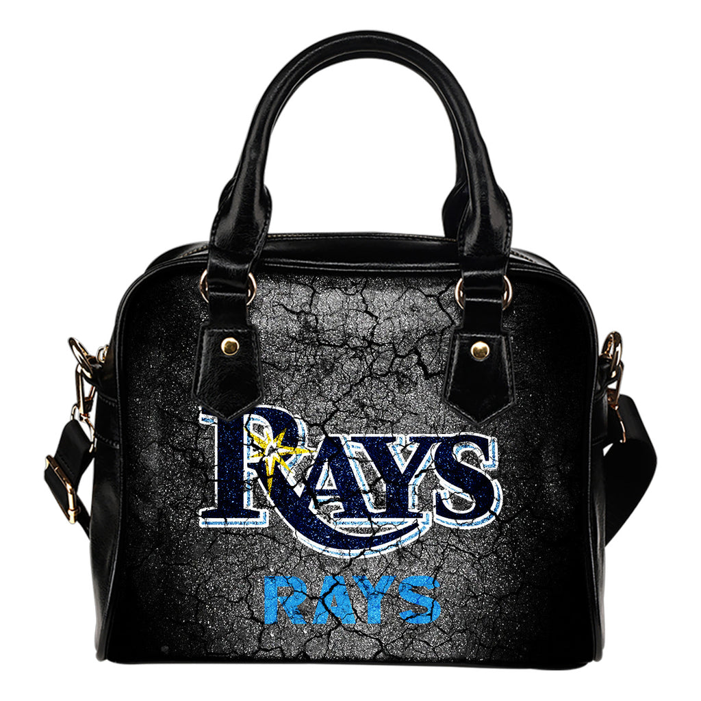 Wall Break Tampa Bay Rays Shoulder Handbags Women Purse