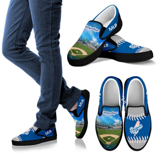 Proud Of Stadium Los Angeles Dodgers Slip-on Shoes