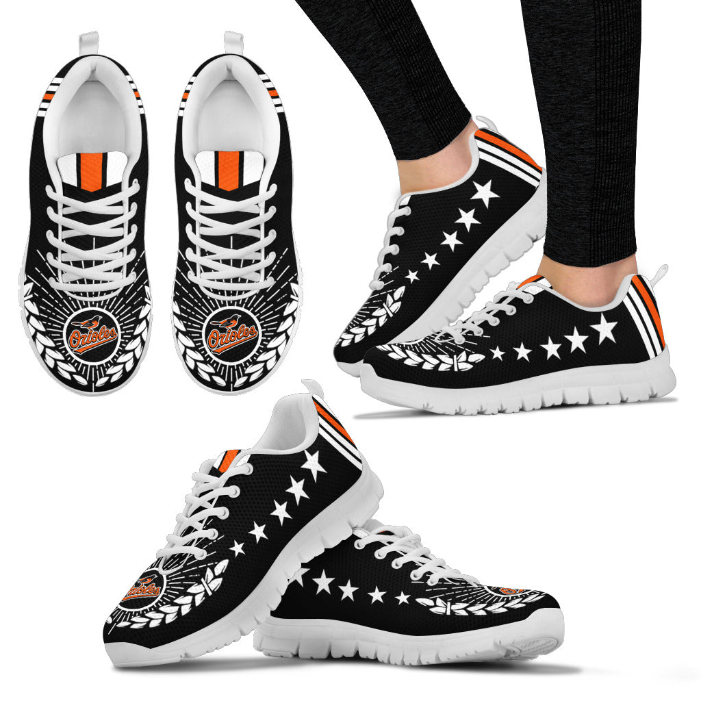 Line Of Stars Victory Baltimore Orioles Sneakers