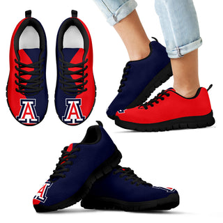 Two Colors Trending Lovely Arizona Wildcats Sneakers