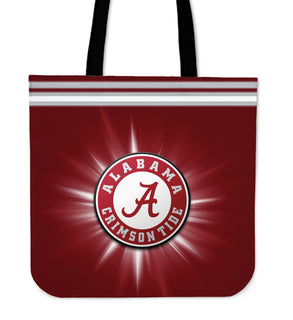 Alabama Crimson Tide Flashlight Tote Bags - Best Funny Store