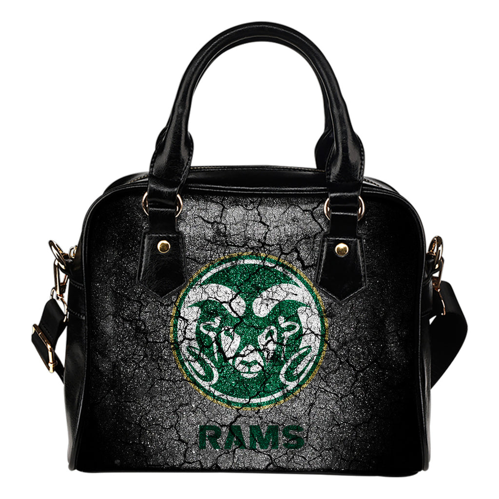Wall Break Colorado State Rams Shoulder Handbags Women Purse