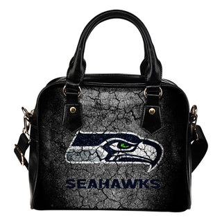 Wall Break Seattle Seahawks Shoulder Handbags Women Purse