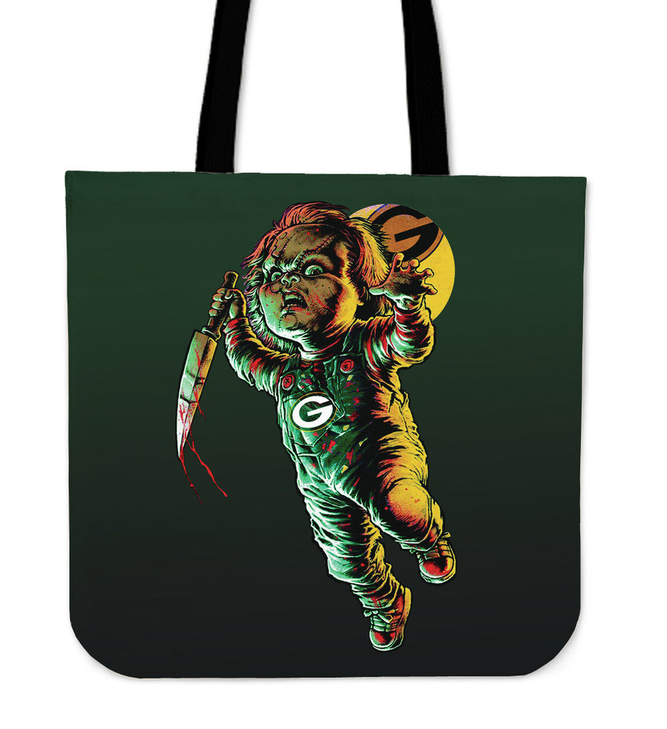 Chucky Green Bay Packers Tote Bag - Best Funny Store