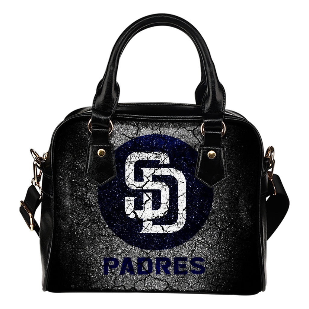 Wall Break San Diego Padres Shoulder Handbags Women Purse