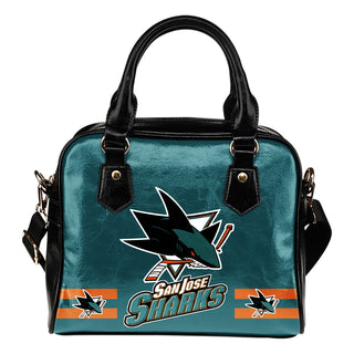 San Jose Sharks For Life Shoulder Handbags