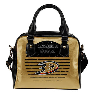 Back Fashion Round Charming Anaheim Ducks Shoulder Handbags
