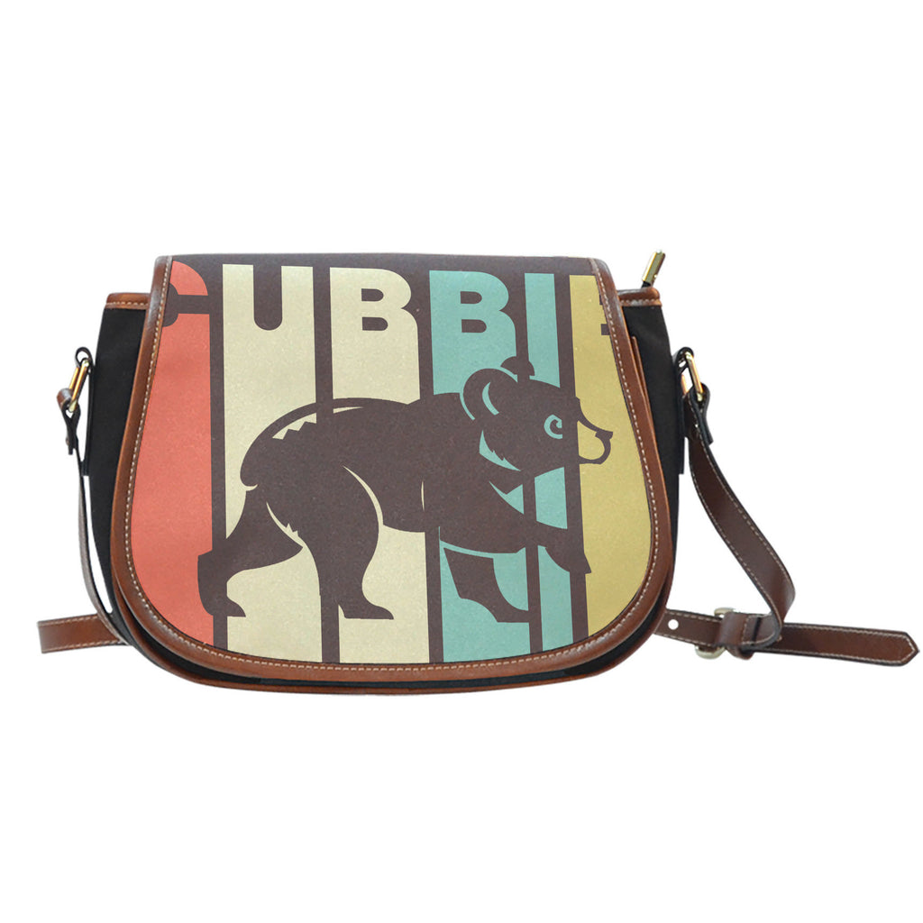 Vintage Style Chicago Cubs Saddle Bags - Best Funny Store