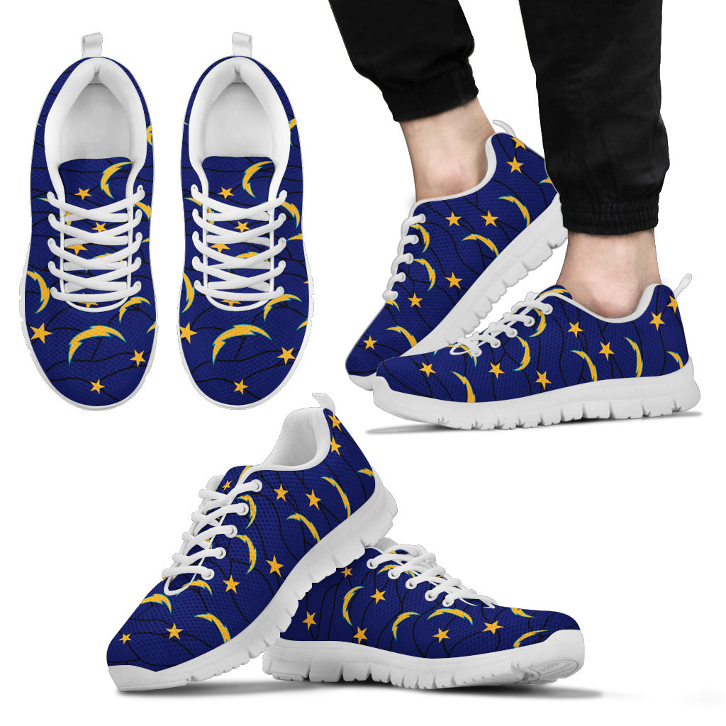 Star Twinkle Night Los Angeles Chargers Sneakers