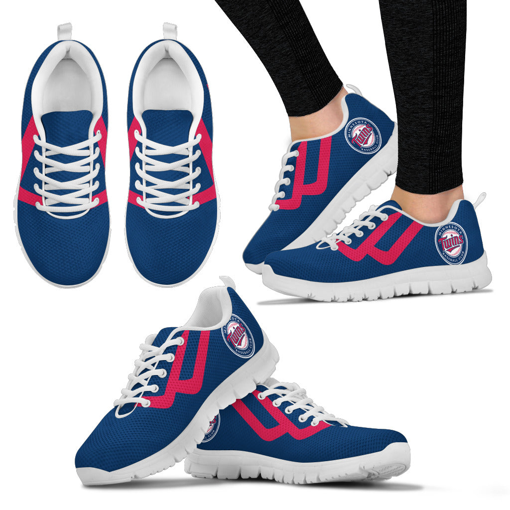 Line Bottom Straight Minnesota Twins Sneakers