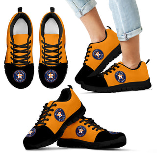 Two Colors Aparted Houston Astros Sneakers