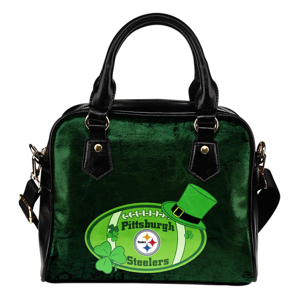 Signal Patrick's Day Pleasant Pittsburgh Steelers Shoulder Handbags