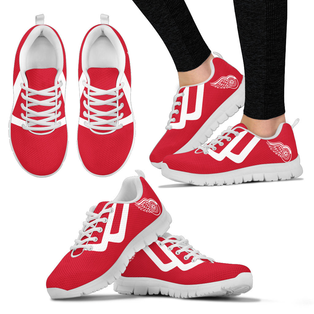 Line Bottom Straight Detroit Red Wings Sneakers