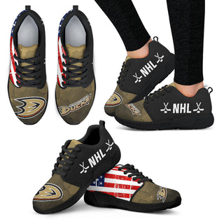 Simple Fashion Anaheim Ducks Shoes Athletic Sneakers