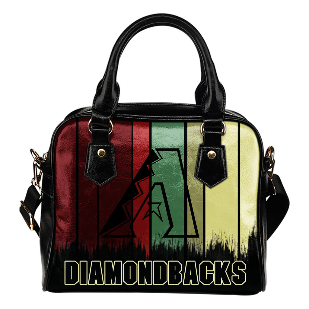 Vintage Silhouette Arizona Diamondbacks Purse Shoulder Handbag