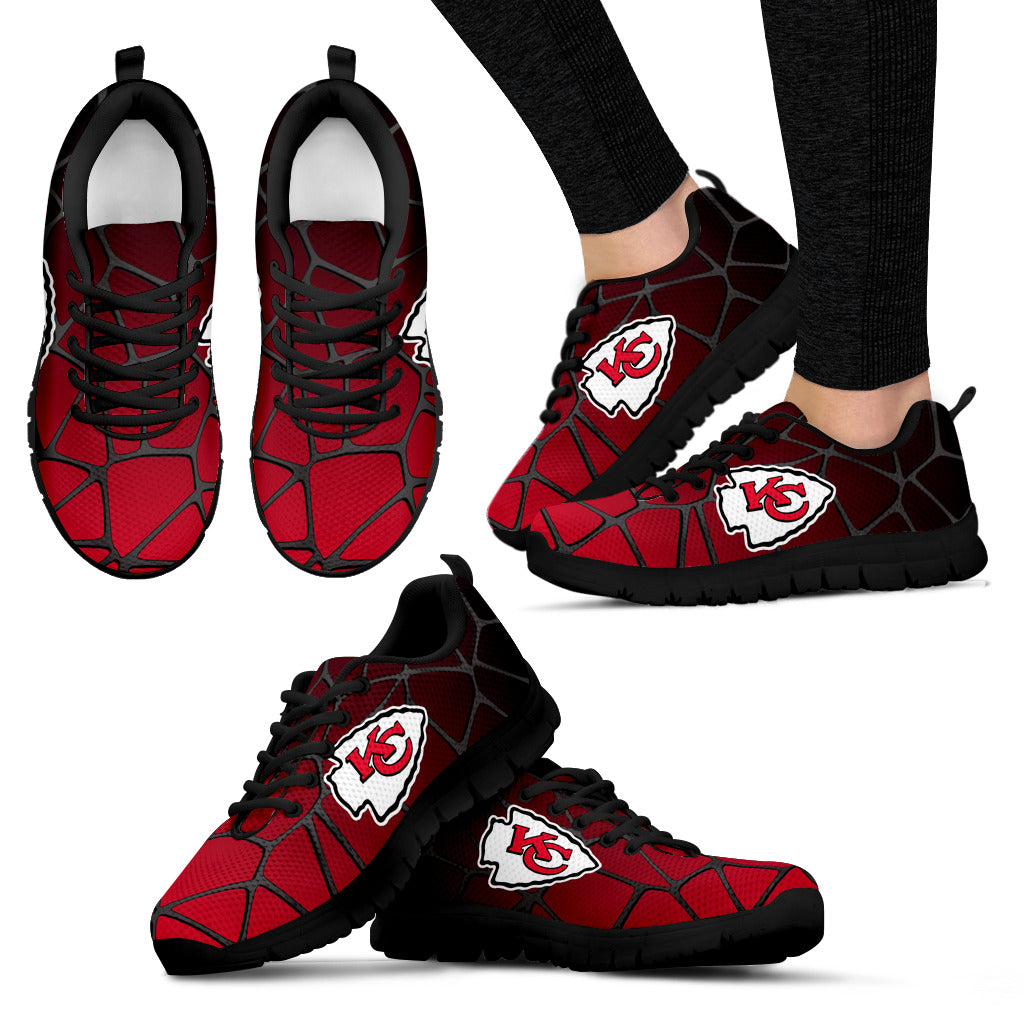 Colors Air Cushion Kansas City Chiefs Gradient Sneakers