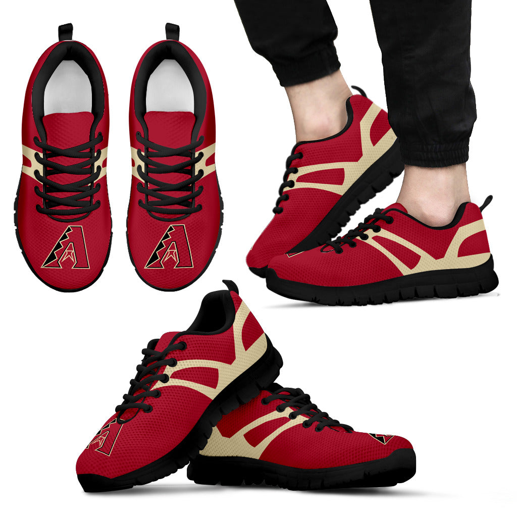 Line Amazing Bottom Arizona Diamondbacks Sneakers